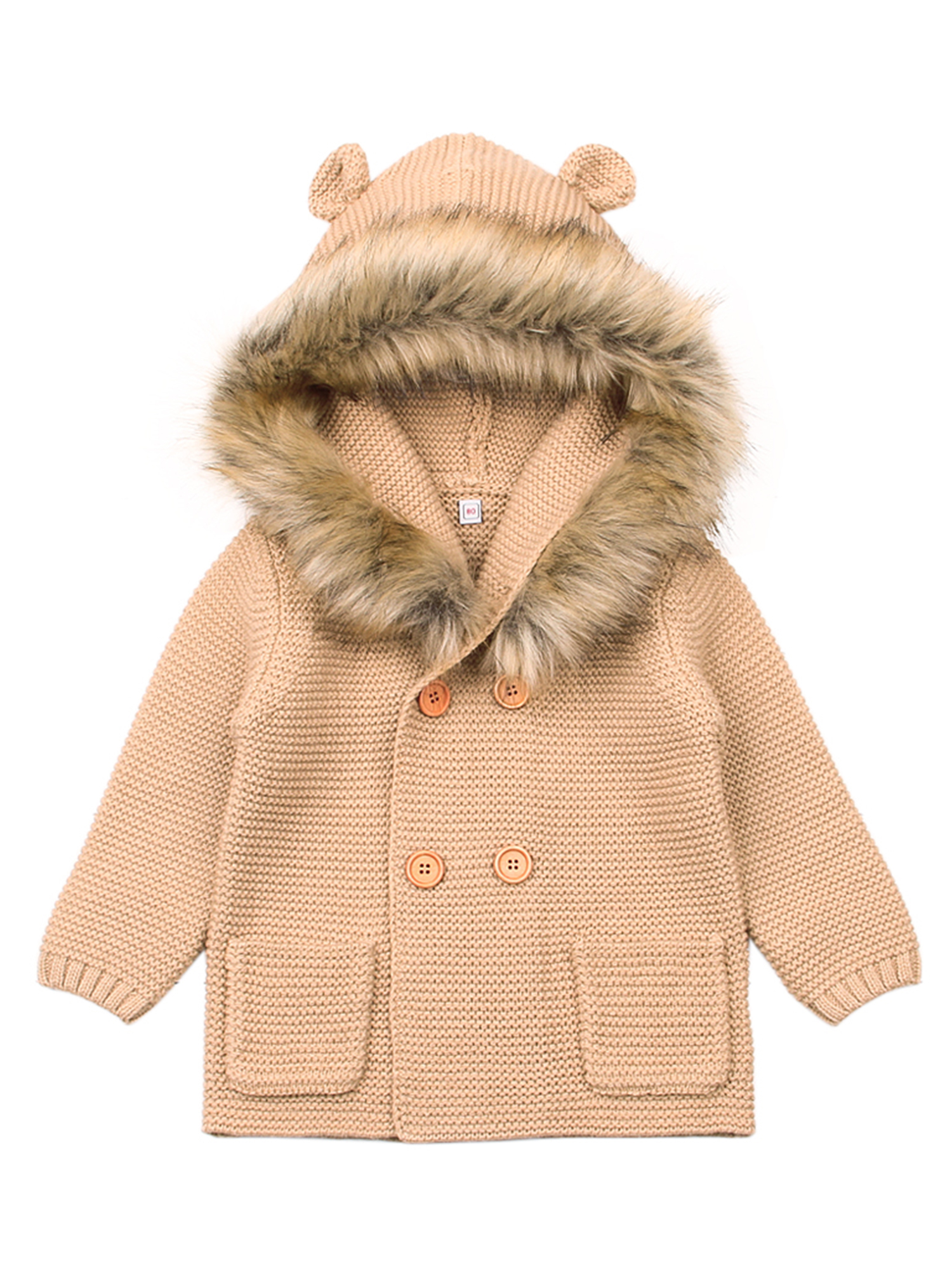 Baby Cardigan Sweater Jacket Cartoon Hoodies Long Sleeve