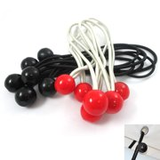 """12 Stretch Cords Ball 6"""" Elastic Bungee Strap Tarp Tie Down Bungy Canopy Cord !!"""