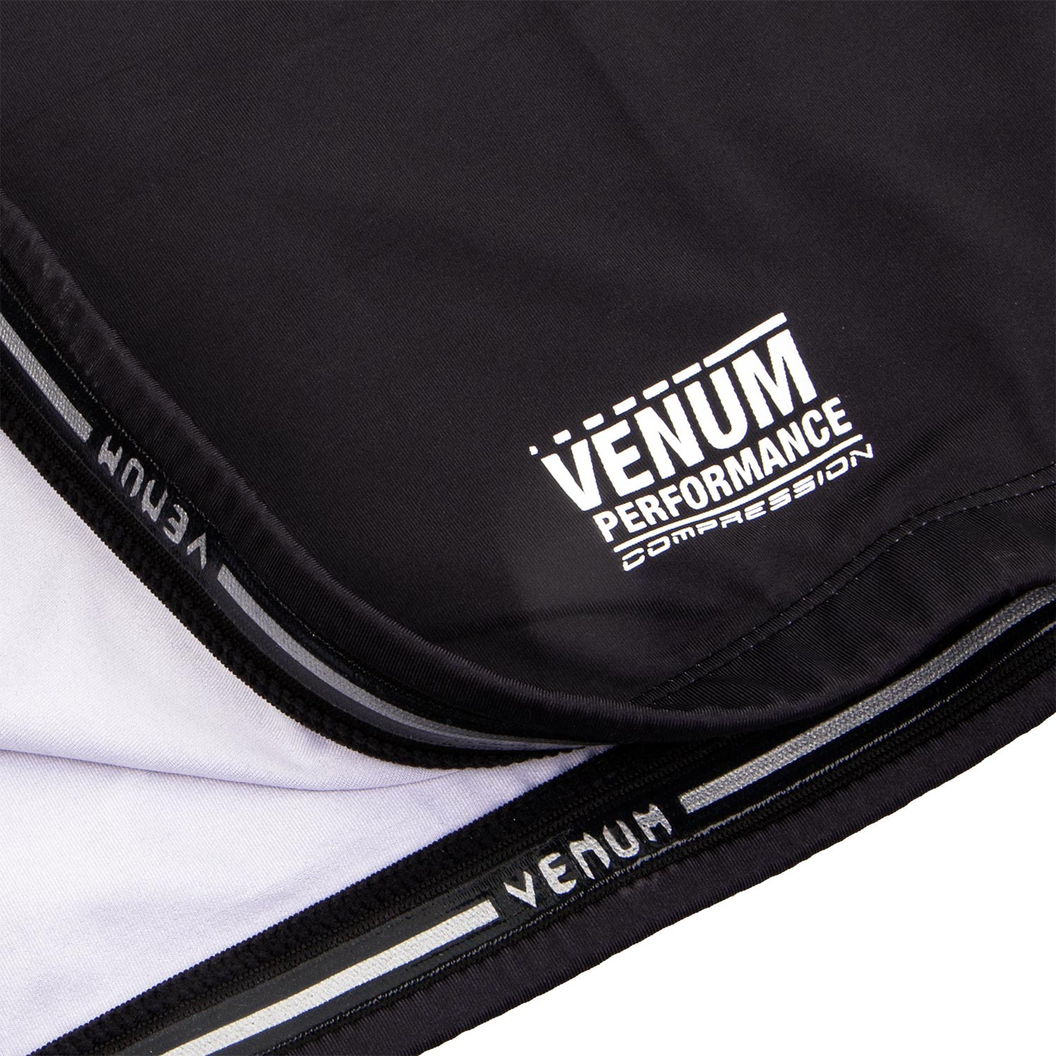 New - Venum Men s Contender 3.0 Short Sleeve Compression Tee Shirt  Black White - Walmart.com b8369e48d