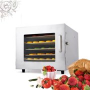 Best Fruit Dehydrators - 600W Electric Food Dehydrator Machine with 12-hour Timer Review
