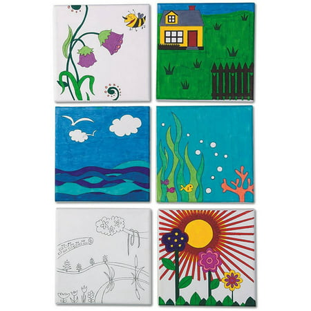 Designer Canvas Set, Pack of 12