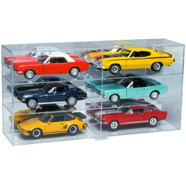 Gagne D03-0618 6 Slot 1-18 Scale Display Case