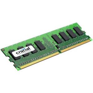 Crucial 1GB DDR2 SDRAM Memory Module - 1GB (1 x 1GB) - 667MHz DDR2-667/PC2-5300 - Non-ECC - DDR2 SDRAM - 240-pin