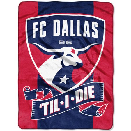 The Northwest Company Navy FC Dallas 40 X 40 Raschel Throw Blanket Extraordinary The Northwest Company Throw Blankets