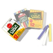 White Chalk - Box of 12 Sticks