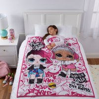 L.O.L. Surprise! Kids Weighted Blanket, 4.5lb, 36 x 48, Free Stylin', Walmart.com EXCLUSIVE!