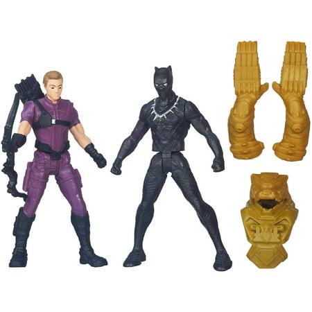 Marvel Captain America: Civil War Marvel's Hawkeye vs. Black Panther