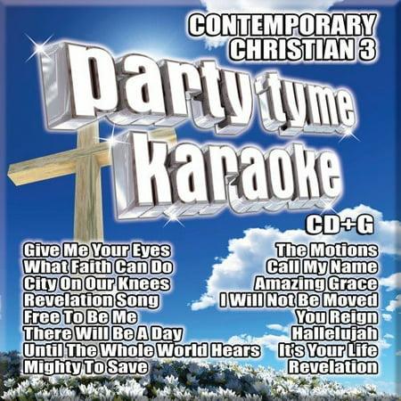 Party Tyme Karaoke: Contemporary Christian, Vol. 3