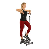 Twisting Stair Stepper Step Machine w/Resistance Bands