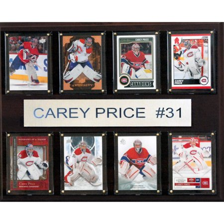 C Collectables Nhl 12X15 Carey Price Montreal Canadiens 8 Card Plaque