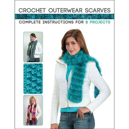 Crochet Outerwear Scarves: Complete Instructions for 8 Projects
