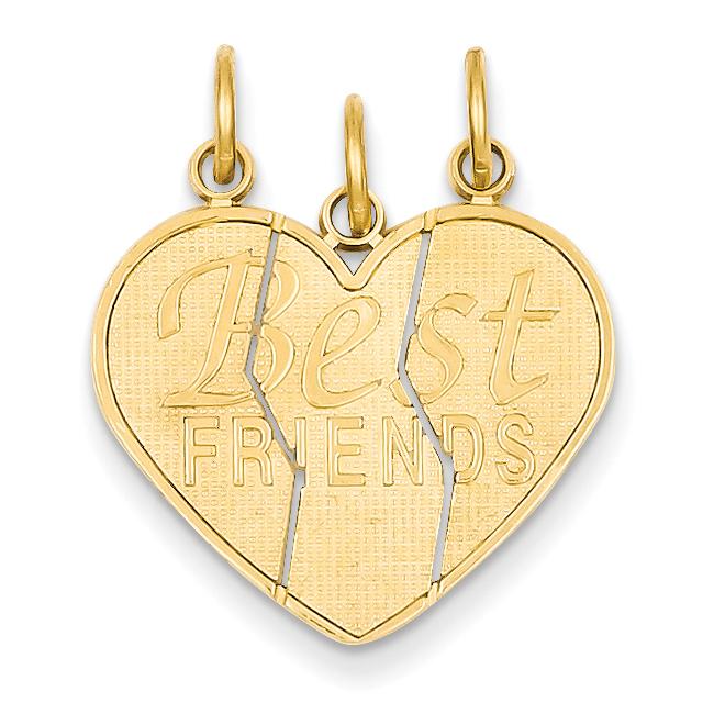 Roy Rose Jewelry 14K Yellow Gold 3 piece Break-apart Frie...