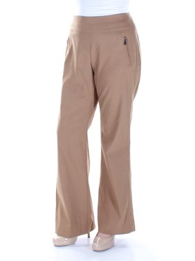 INC Womens Brown Zippered Pants  Size: 0