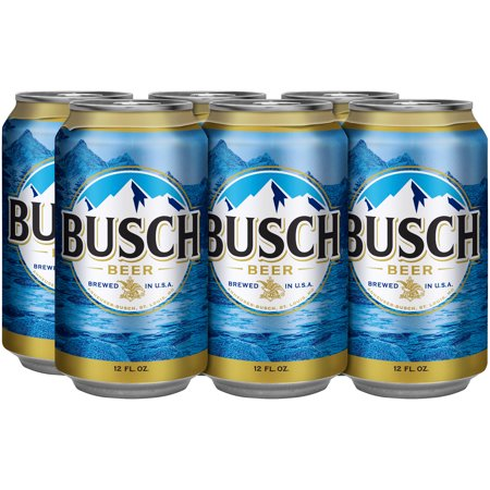 Busch® Beer, 6 Pack 12 fl  oz  Cans - Walmart com