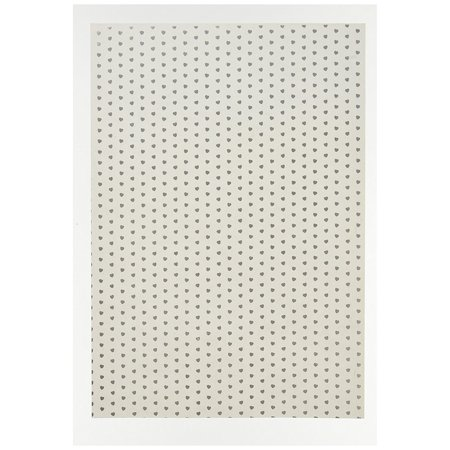 Ruby Rock-It Fundamentals A4 Vellum Sheets, 11 7 by 8 3-Inch, Hearts,  12-Pack, These vellum sheets make an elegant addition to any paper crafting
