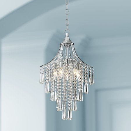 Vienna Full Spectrum Chrome Pendant Chandelier 16