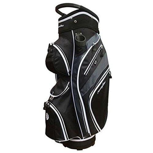 Powerbilt Golf Monterey Cart, Black/Black