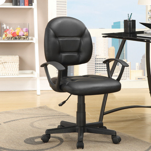 Wildon Home  Low-Back Task Chair with Arms
