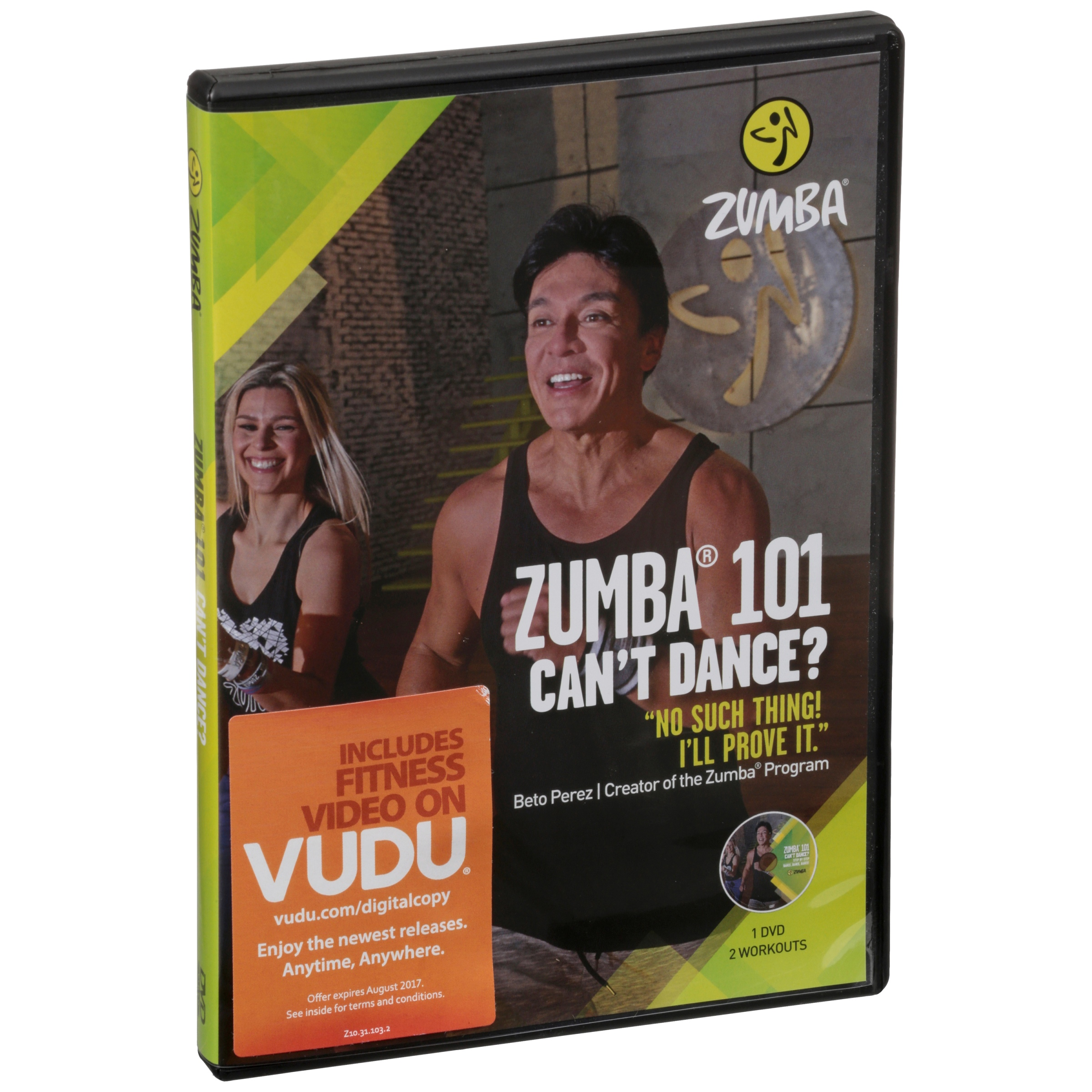 Zumba 101 Can't Dance? Fitness DVD by Zumba Fitness, Llc