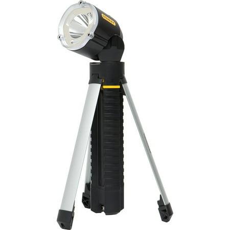 Stanley 95-112B LED Tripod Flashlight Black