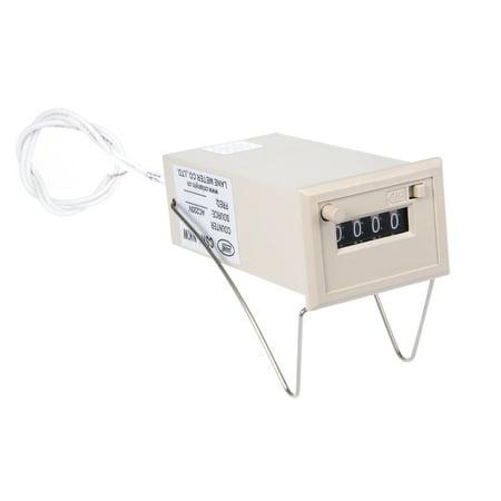 CSK4-NKW 4 chiffres 0-9999 Afficher électro commande relais AC220V - image 1 de 4