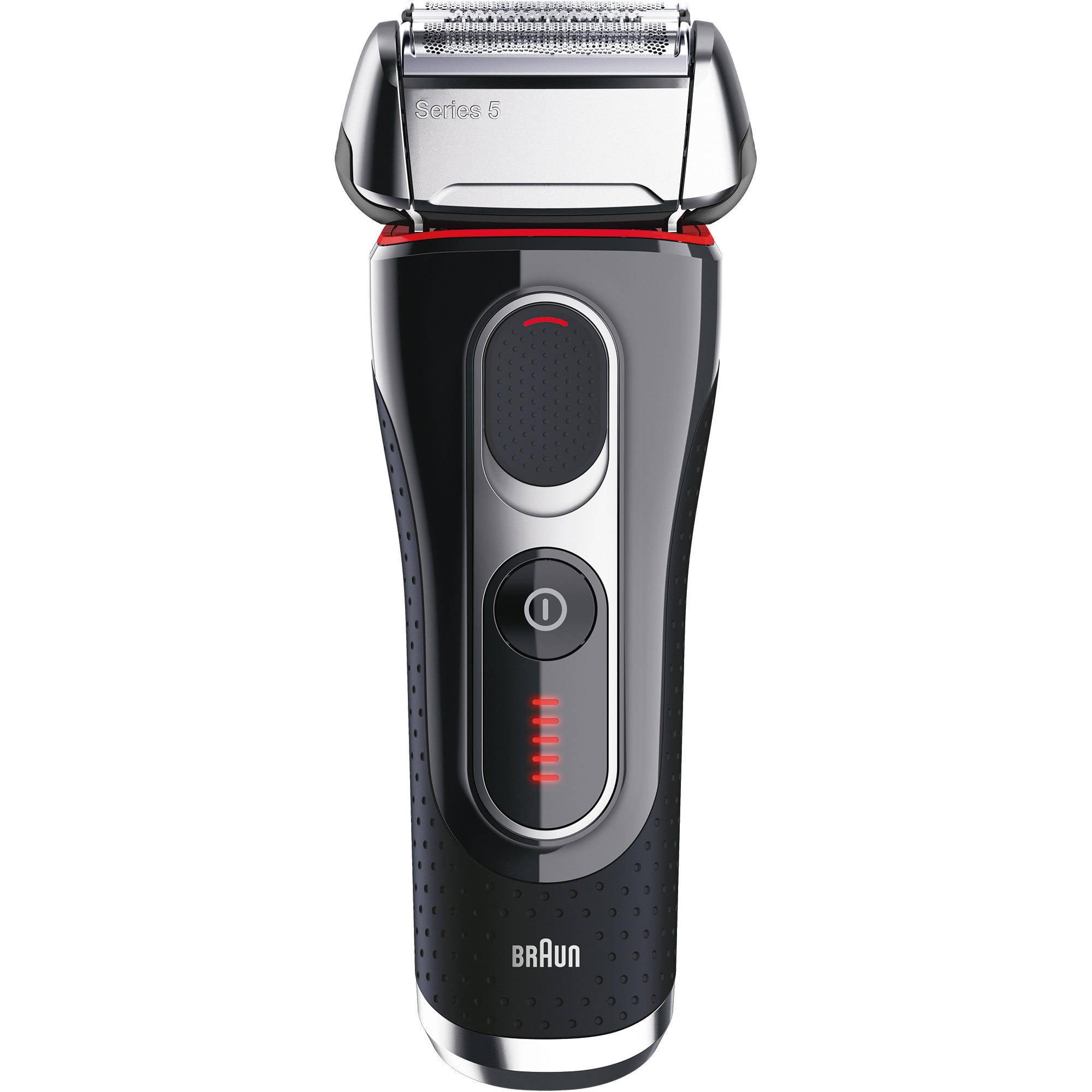 Braun Series 5 5090cc Electric Shaver With Cleaning Center Plus Bonus Mobile