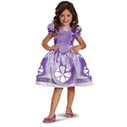 Disney Junior Sofia The First Classic Girls Costume Dress Medium 7-8