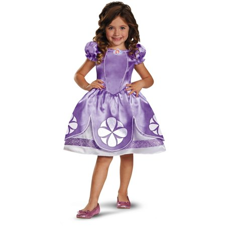 Disney Junior Sofia The First Classic Girls Costume Dress Medium 7-8