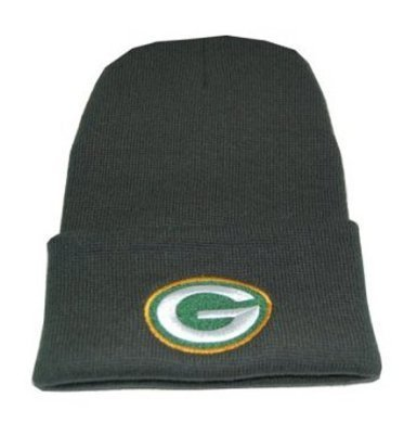 NFL Beanie Green bay Packers Green Cuff by Reebok