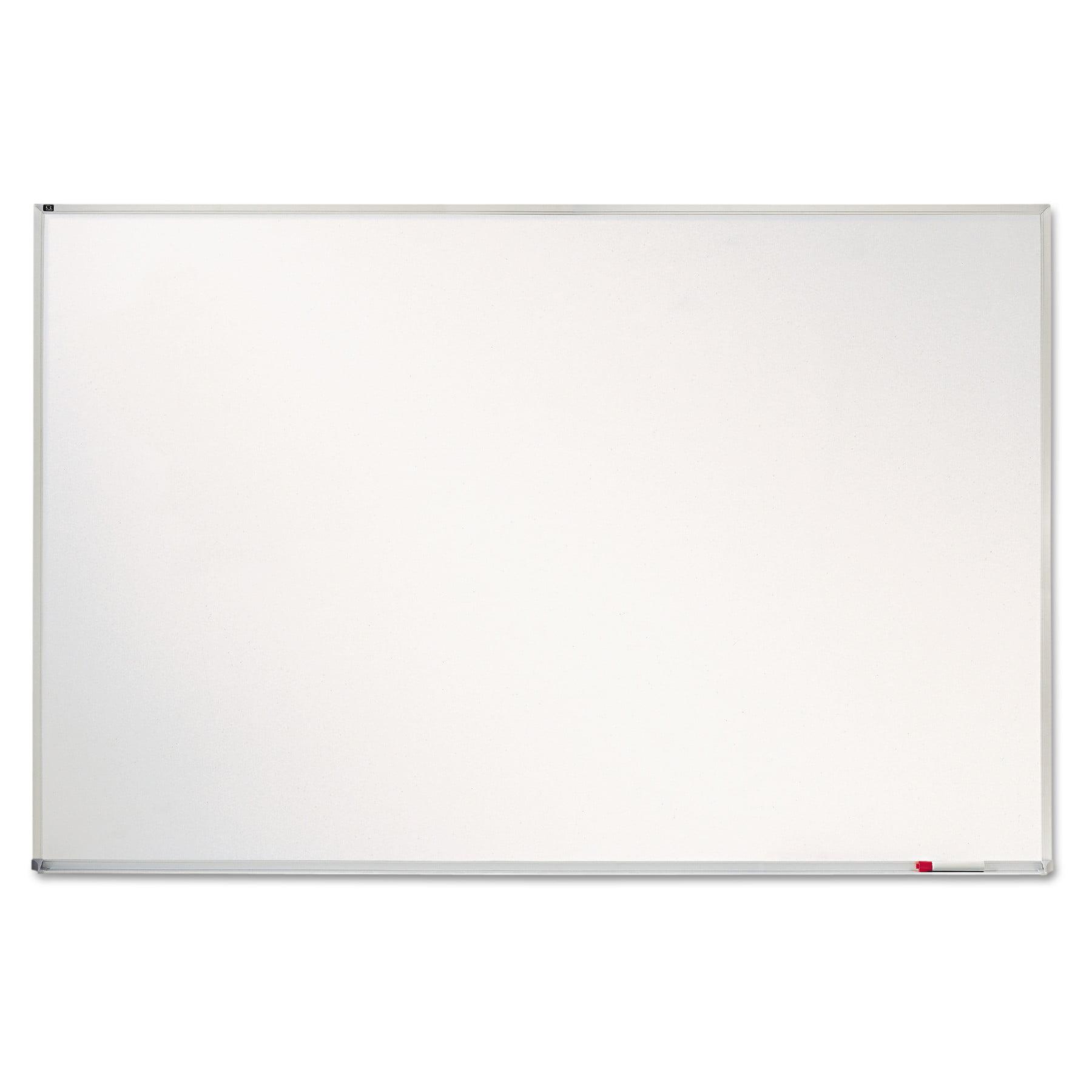 "Quartet Porcelain Magnetic Whiteboard, 72"" x 48"", Aluminum Frame"