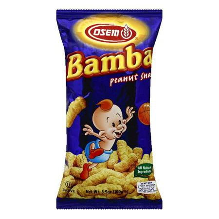 Osem Bamba Peanut Snacks, 3.5 OZ (Pack of - Names Of Peanuts Characters