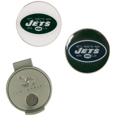 New York Jets Hat Clip & Ball Markers Set - No Size (New York Jets Santa Hat)