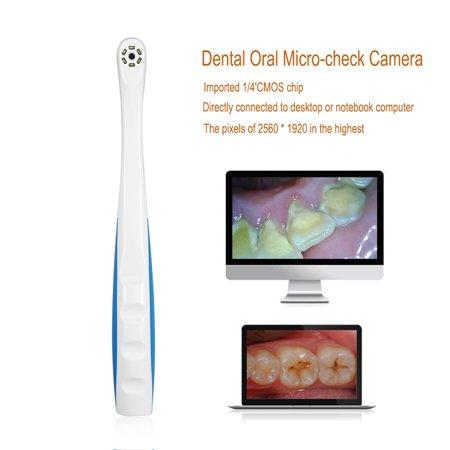 WALFRONT Appareil-photo intra-oral de LED, pixels intra-oraux multifonctionnels USB 2.0 6Pcs de pixel d'appareil-photo oral LED 2560 * 1920, appareil-photo intra-oral - image 6 de 8
