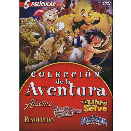 Mill Creek Studios Coleccion Aventura Dvd