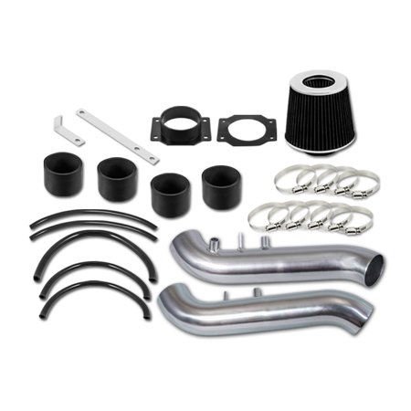RL Concepts Black Short Ram Air Intake Kit + Filter For Nissan 90-96 300ZX Fairlady Z32 3.0 V6 Non-Turbo ()