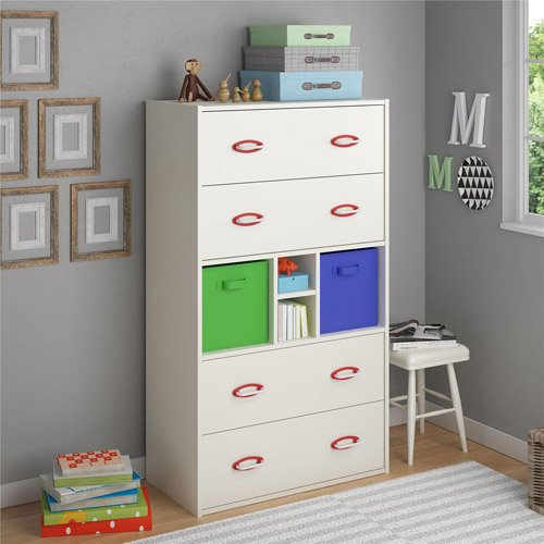 Lucerne Dresser by Altra, White Stipple