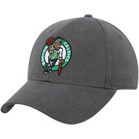 Men's Charcoal Boston Celtics Mass Basic Adjustable Hat - OSFA