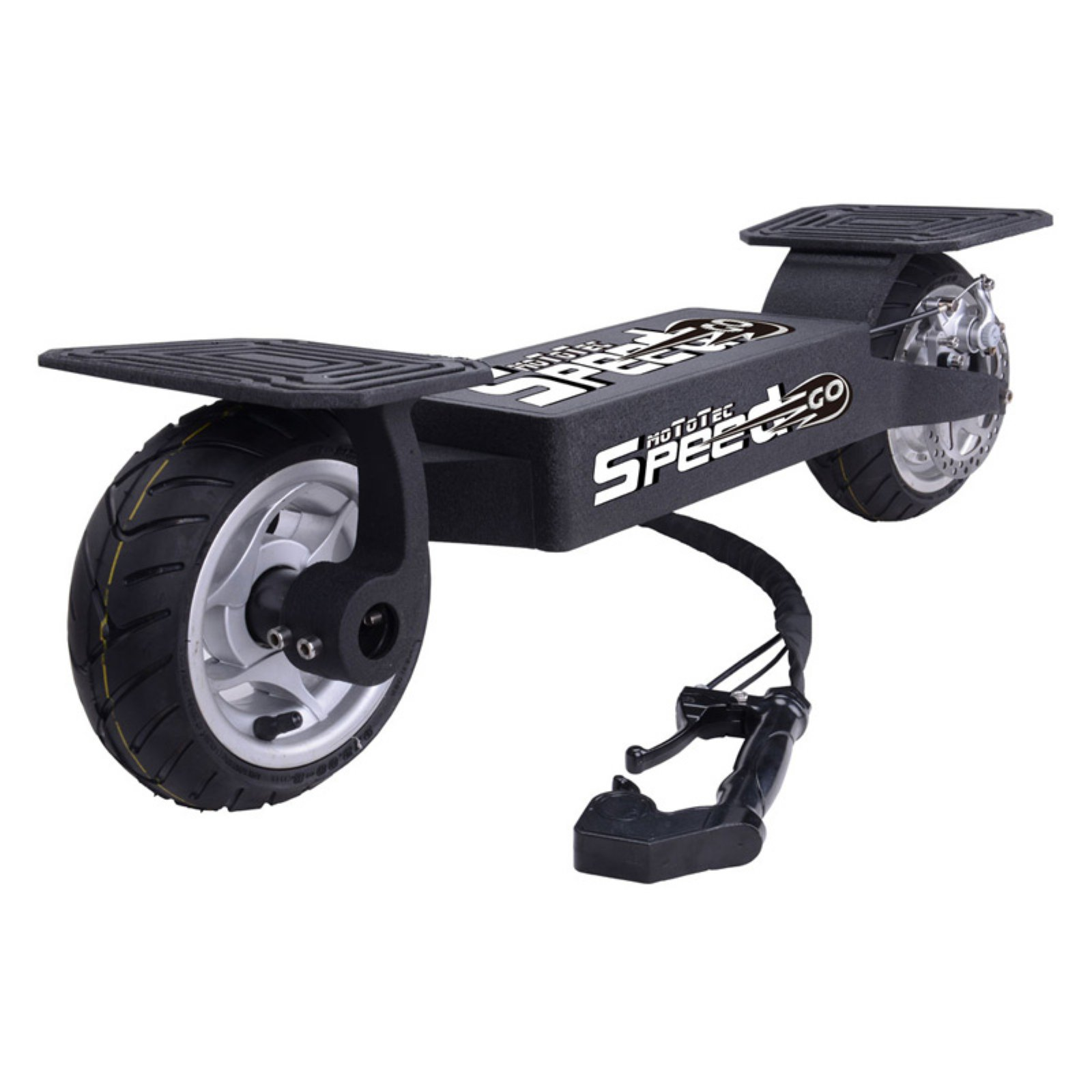 MotoTec 36 Volt Electric Speed Go Board, Black