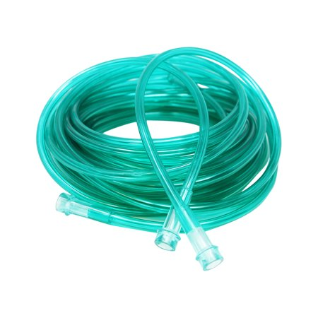 Pivit Crush-Resistant Oxygen Tubing 50 ft Green | Low-Memory Helps Prevent Kinking Remains Straight | Green Is Easy To See For Safety | Universal Fittings Connect Fast & Easy Ensures Most Optimal Flow