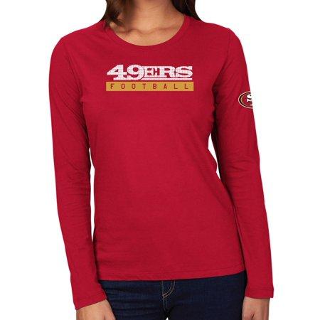 competitive price c0580 1e109 San Francisco 49ers Women's Majestic NFL