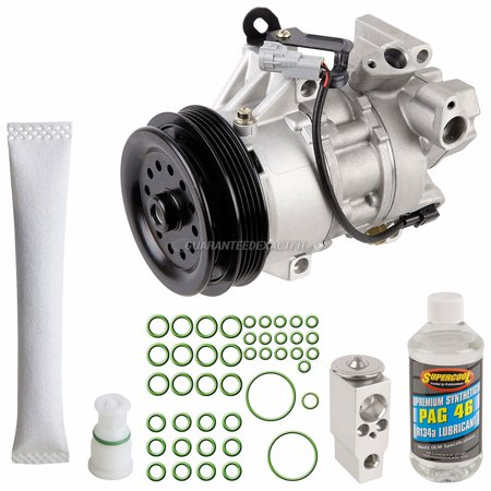 AC Compressor w/ A/C Repair Kit For Scion xA & xB - Walmart com