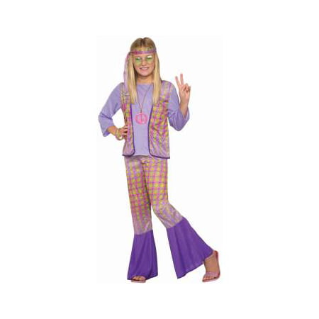 CHCO - HIPPIE - S (PROMO - GIR - Childs Hippie Costume