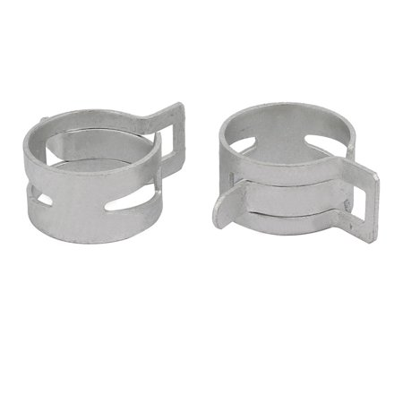 20 Pcs 19mm Spring Band Type Action Fuel Hose Pipe Low Pressure Air Clip Clamp - image 1 of 3