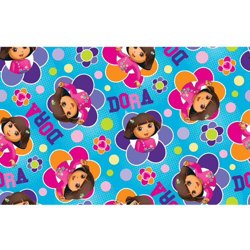 Springs Creative Nick Dora Totally Dora Floral Badges Cotton Fabric by the Yard
