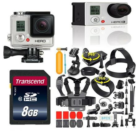 GoPro Hero3 Black Edition HERO3 CHDHX-301 + 35-in-1 GoPro Action Camera Accessories Kit