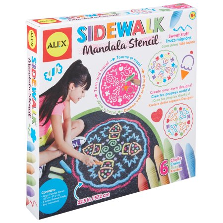 ALEX Art Sidewalk Mandala - Sweet Stuff](Mandala Crafts)