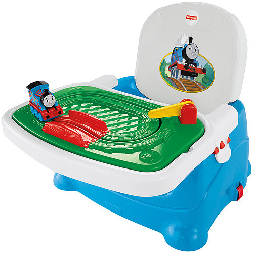 Fisher-Price Thomas Tray Play Booster Seat, Blue