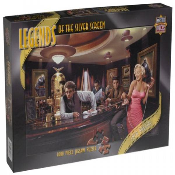 Legends of the Silver Screen - Java Dreams Jigsaw Puzzle 750pc by MasterPieces