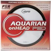 Aquarian onHEAD Portable Electronic Drumsurface Bundle Pak 13 in.