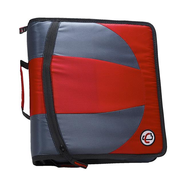 Dual D-Ring Binder, 1.5 in. - Red